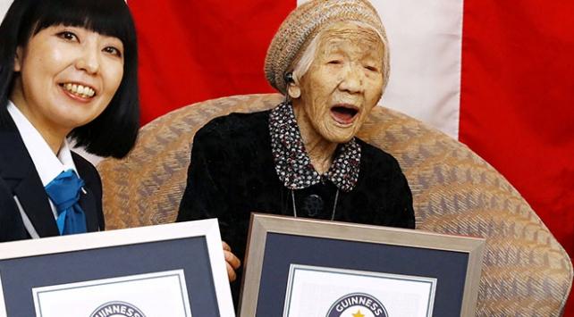 Dünyanın en yaşlı kişisi yine Japonyadan