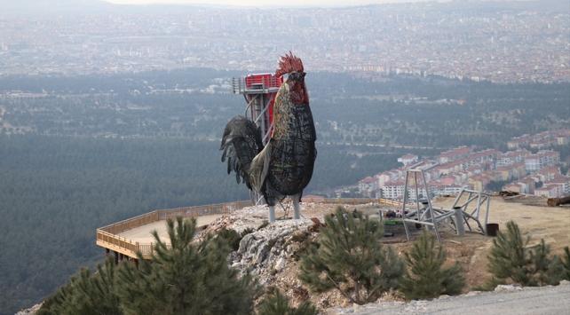 Dünyanın en büyük horoz heykeli Denizliye yapılıyor