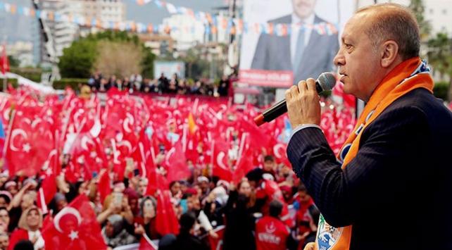 Cumhurbaşkanı Erdoğan: Suriyenin kuzeyinde terör koridoru oluşturulmasına fırsat vermeyeceğiz