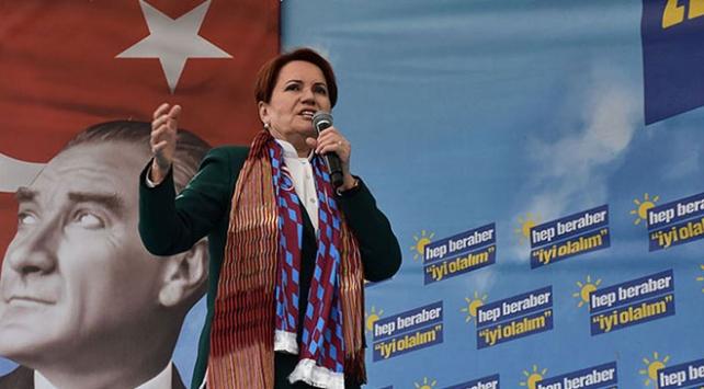 Meral Akşener: Fındığı dolara bağla, dünya mecburen satın alacak