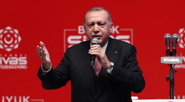 Cumhurbaşkanı Erdoğan: Bu seçimler milli iradeye pusu kuranlarla hesaplaşma seçimidir