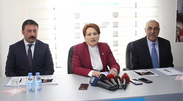 Meral Akşener adaylara seslendi: Ayrıştırıcı dil kullanmayın