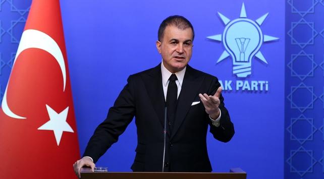AK Parti Sözcüsü Çelik: Avrupa Parlamentosunun kararı bizim için hükümsüz ve itibarsız