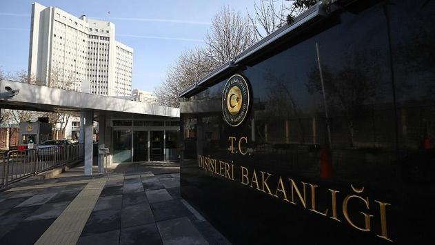 APnin Türkiye Raporuna Dışişlerinden tepki