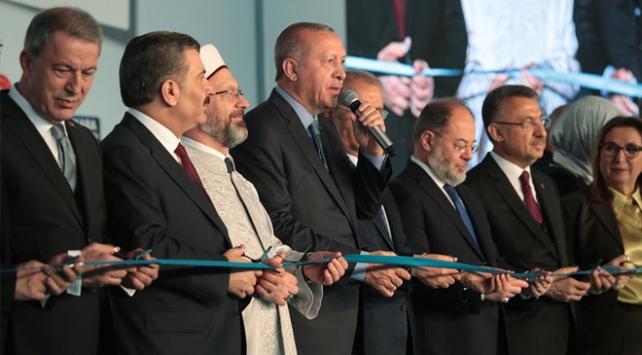 Avrupanın en büyüğü Ankara Şehir Hastanesi açıldı