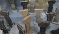 Yaşlı ve engelli kursiyerler Göbeklitepe hediyeleri tasarlıyor