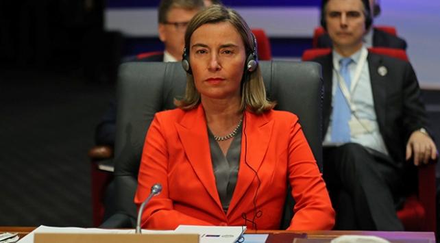 Mogherini: Türkiyedeki Suriyeliler için 1,5 milyar euro aktaracağız