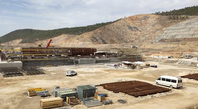 Akkuyu NGSde ilk reaktör için yeni aşama