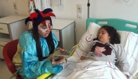 Hasta çocuklara masal saati uygulaması