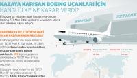 Kazaya karışan Boeing uçakları için hangi ülke ne karar verdi?