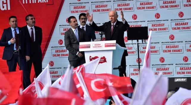 MHP Genel Başkanı Bahçeli: Cumhur İttifakı milli hedeflerin ana kulvarı, ana karargahıdır