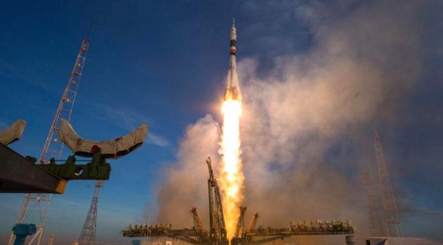 Soyuz MS 12 kapsülü uzaya fırlatıldı