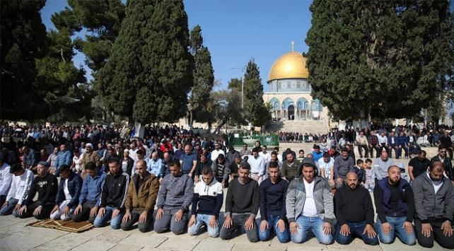Mescid-i Aksadan Arap ülkelerine mesaj