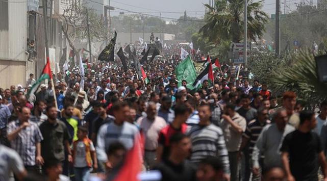 Gazze Şeridinde Büyük Dönüş Yürüyüşü eylemlerine ara verildi