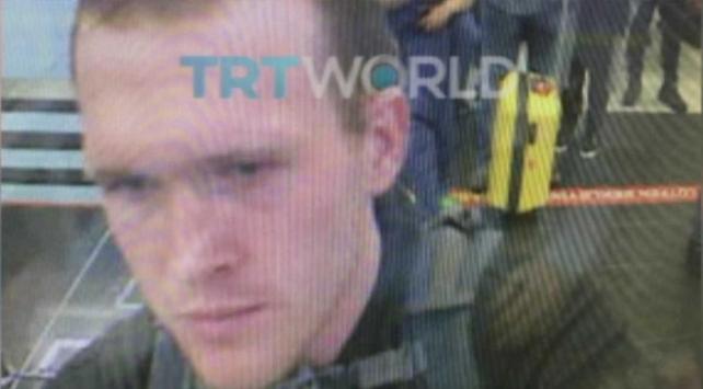 Yeni Zelandadaki teröristin Türkiyeye giriş anı