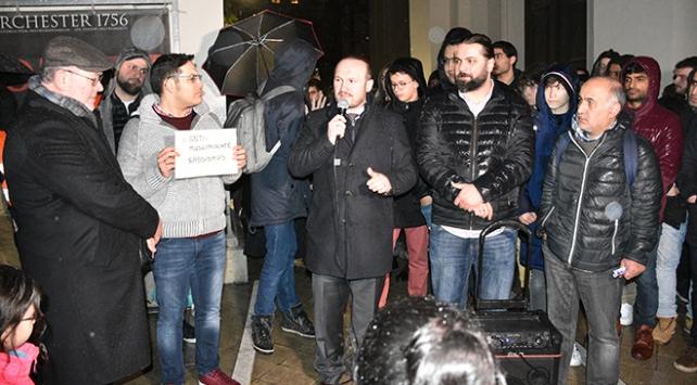 Viyanada ırkçı söylemlere karşı gösteri