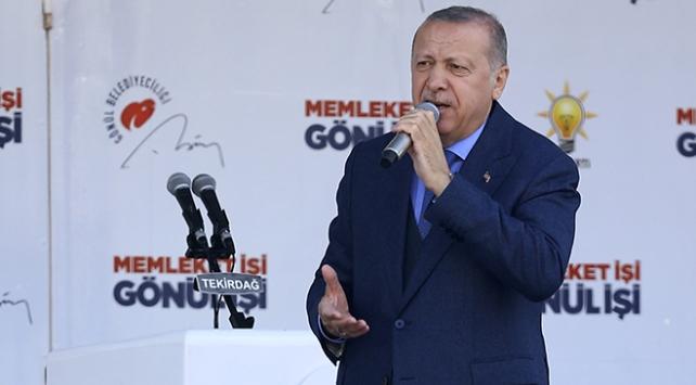 Cumhurbaşkanı Erdoğan: Bunların derdi doğrudan doğruya Türkiyedir