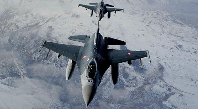 Irakın kuzeyine hava harekatı