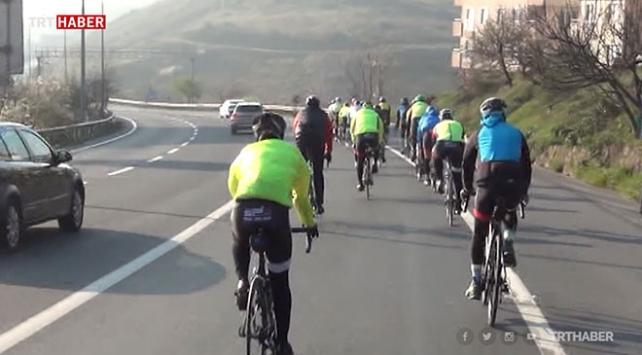 Şehitler için Kocaeli'den Çanakkale'ye pedal çevirecekler