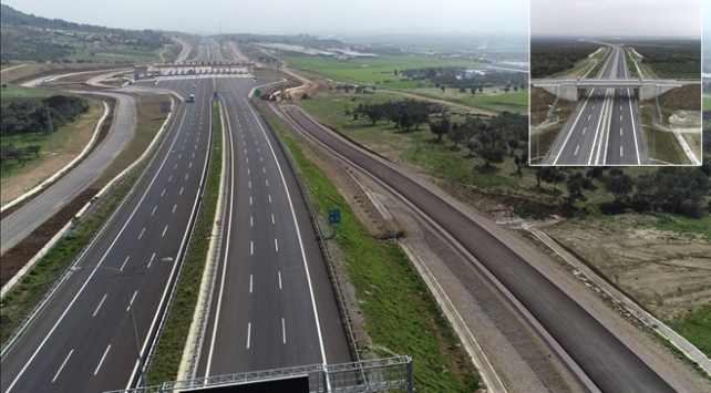 İstanbul-İzmir Otoyolunun 65 kilometrelik bölümü daha açıldı