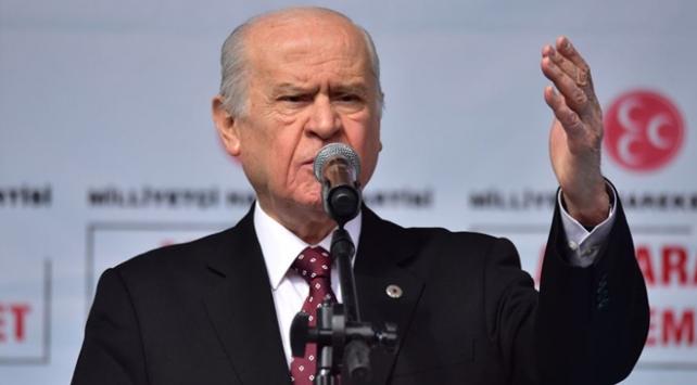 MHP Genel Başkanı Bahçeli: PKKya, FETÖye tutunanlar bilsinler ki son kale Türkiye Cumhuriyeti
