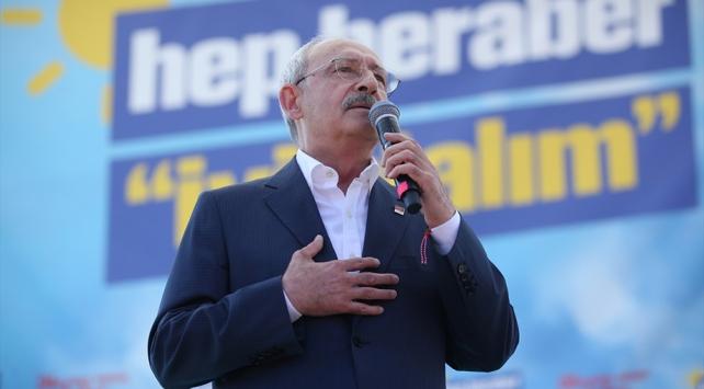 Kılıçdaroğlu: Şikayetlerimizi sandığa giderek dile getireceğiz