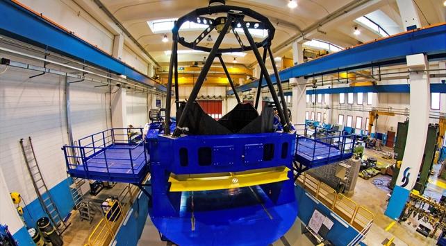 Türkiye'nin en büyük çaplı teleskobunun optik kalitesi artırılacak