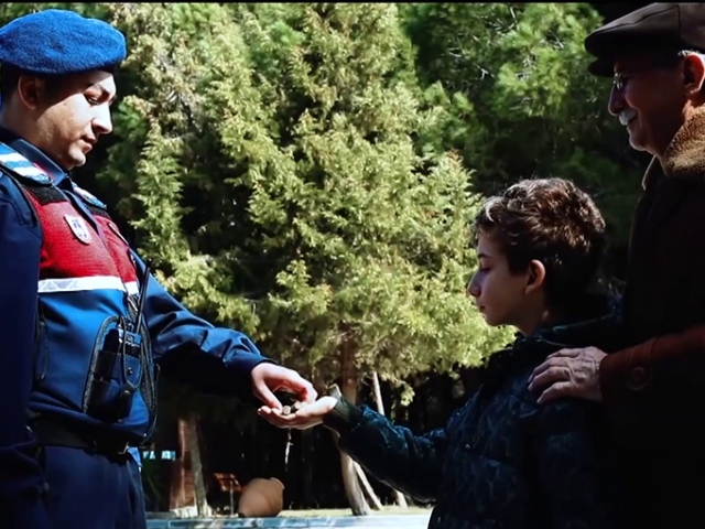 """Jandarmadan """"Çanakkale Zaferi"""" videosu"""