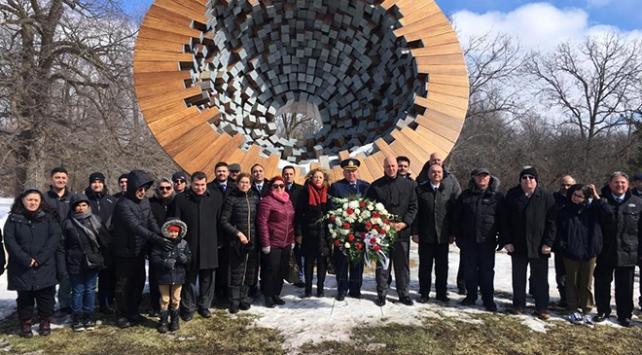 Çanakkale şehitleri Kanadada anıldı