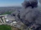 Hadımköy'de fabrika yangın
