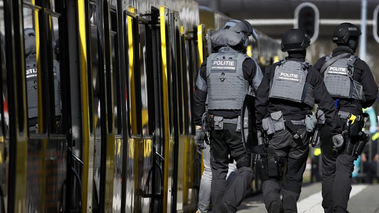 Hollandada silahlı saldırı
