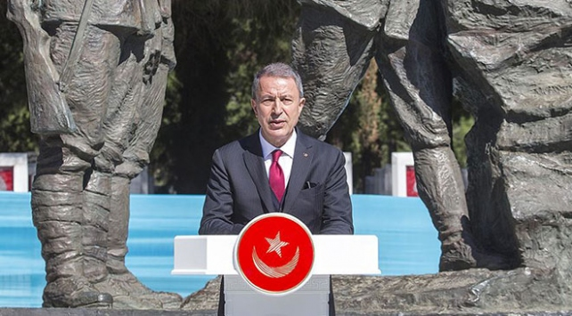 Milli Savunma Bakanı Akar: Bu katliam İslam ve Türk düşmanlığının geldiği noktayı göstermekte