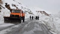 Çığ nedeniyle kapanan Hakkari-Şırnak kara yolu açıldı