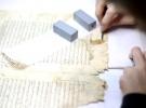 El yazması eserlere Süleymaniye Kitap Şifahanesinde yoğun bakım