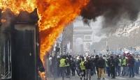 """Fransa'da """"Sarı Yelekliler""""in gösterilerine yasak geliyor"""