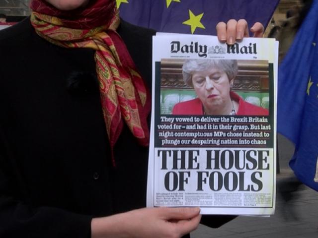 Brexit düğümünü çözecek tüm yollar tıkandı, gözler Avrupa Birliği'nde