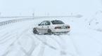 Kar ve tipi sürücülere zor anlar yaşattı