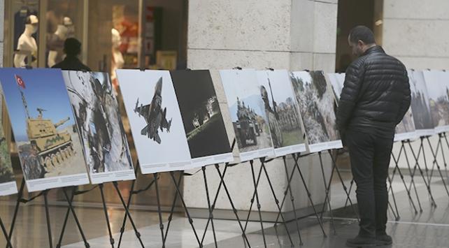MSB ve Anadolu Ajansından Zeytin Dalı Fotoğraf Sergisi