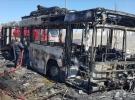 Ankara'da seyir halindeki otobüste yangın