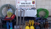 Bursa'da iki ayrı kaçak kazı operasyonu: 6 gözaltı