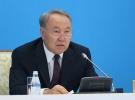 Nazarbayev'den halka teşekkür