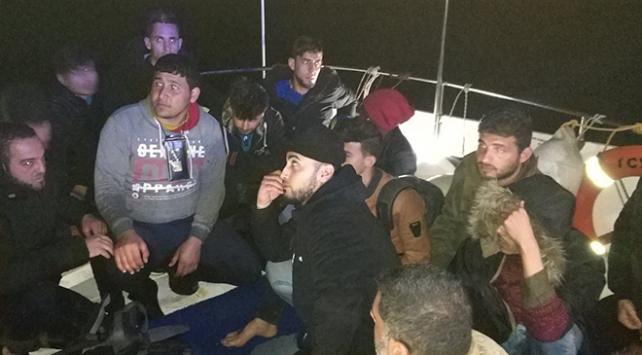 Didimde 18 düzensiz göçmen yakalandı
