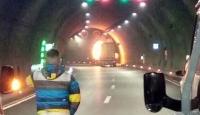 Sabuncubeli Tüneli tek yönlü trafiğe kapatıldı