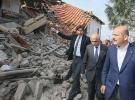 Bakan Soylu: Depremde hasar gören evlerle ilgili çalışmalar başlayacak