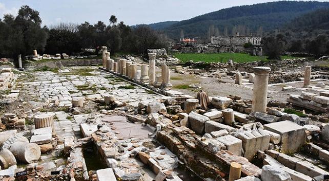 """Muğla """"Gladyatörler kenti""""nin mezarları ziyarete açılıyor"""