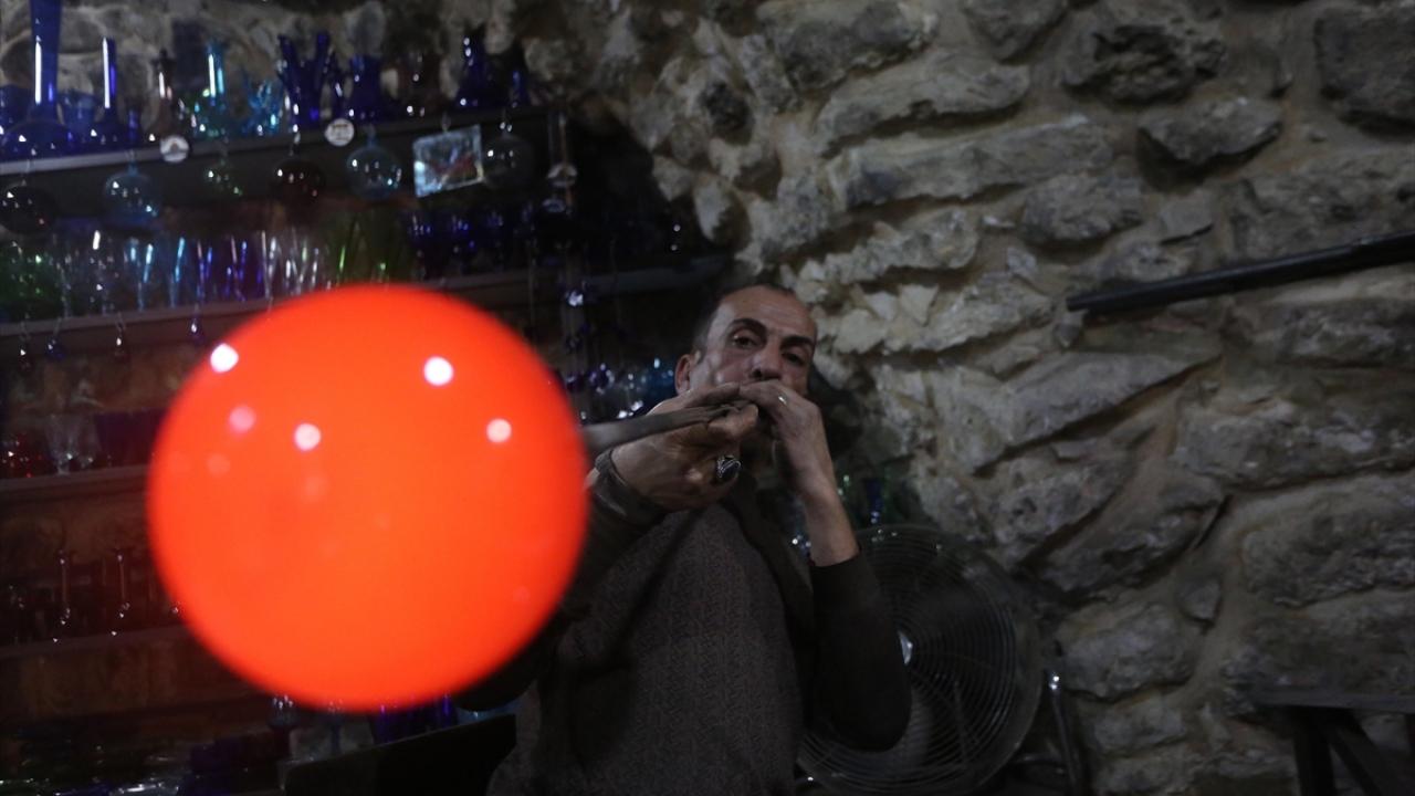 Filistinli cam ustası sanatıyla işgale meydan okuyor