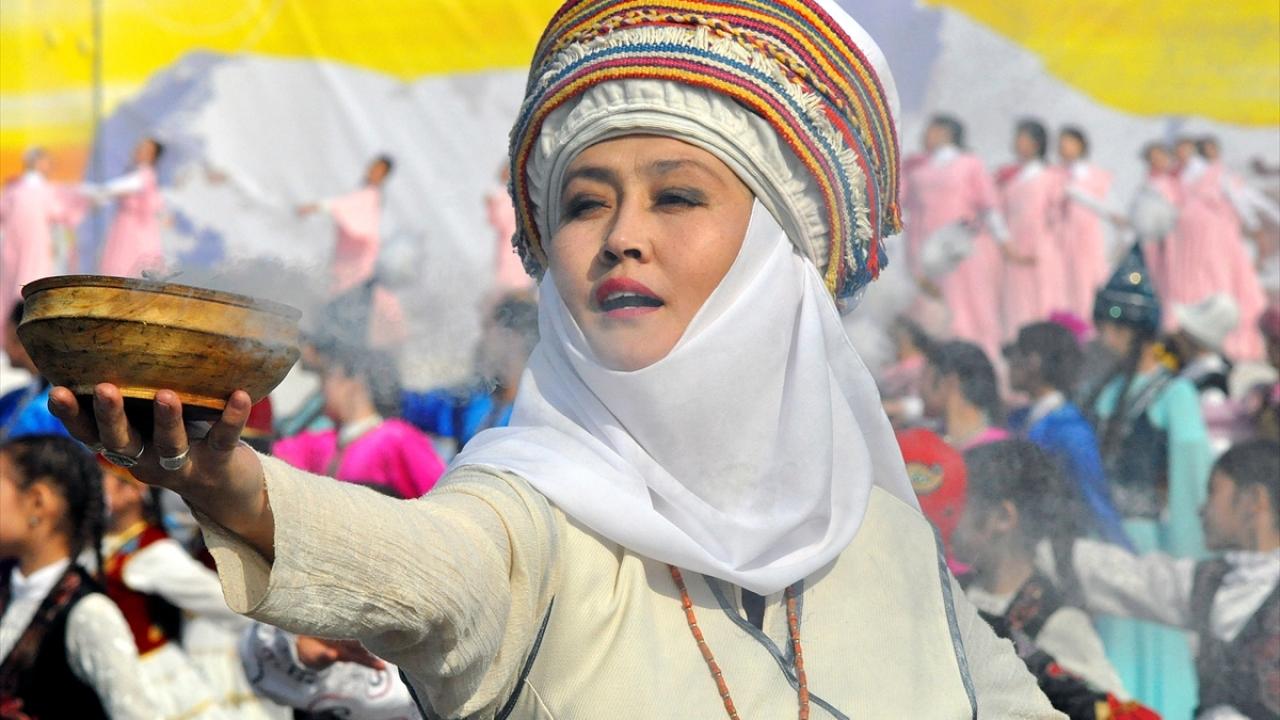 Kırgızistan'da Nevruz Bayramı coşkuyla kutlandı