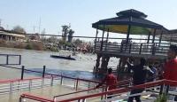 Musul'da feribot battı: 71 ölü
