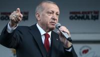 Cumhurbaşkanı Erdoğan: Ezan düşmanlarına hadlerini bildirmek için seçimden güçlü çıkmalıyız