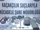 Tarihi mezardaki hırsızlığın zanlıları Ankara'da yakalandı